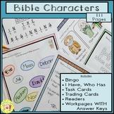 Bible Characters Activity Bundle