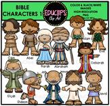 Bible Characters 1 Clip Art Bundle {Educlips Clipart}