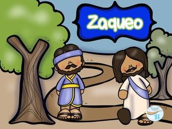 Bible Characters Zacchaeus