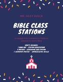 Bible Class Stations - Posters and Handout