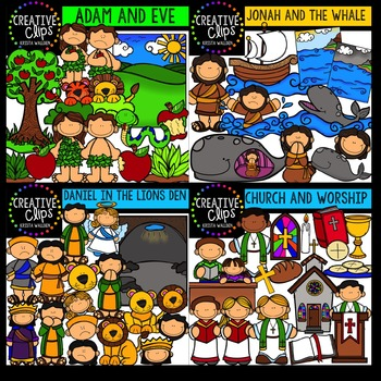 Bible Mega Bundle {Creative Clips Digital Clipart}