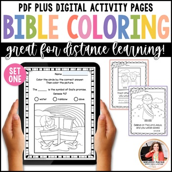 bible coloring sheets set 1 bible characters verses handwriting practice. Black Bedroom Furniture Sets. Home Design Ideas