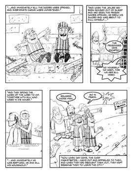 Bible Comic: The Philippian Jailer