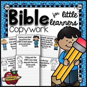Bible Copywork