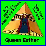 Queen Esther Triorama Bible Craft