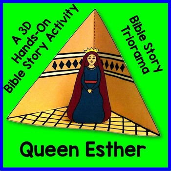 Queen Esther Triorama Bible Craft