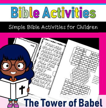 Bible Crafts- The Tower of Babel