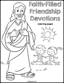 Bible Devotions | Friendship Coloring Pages