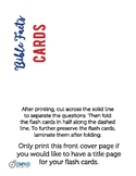 Bible Facts Flash Cards