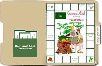 Bible File Folder Game: Cain and Abel