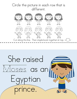 Bible Friends:  Moses {Story and Activity Booklet}