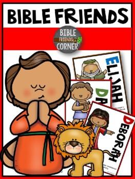 Bible Friends Poster Set 2