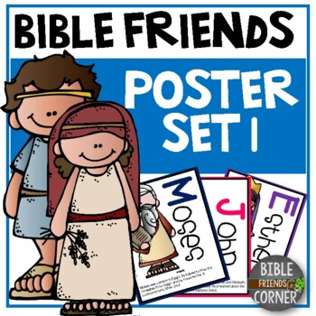 Bible Friends Posters