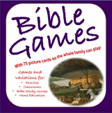 Bible Distance Learning Games For Bible Groups, Classrooms