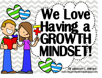 Bible Growth Mindset Posters and Writing Activities (Big Kids/Middle School)