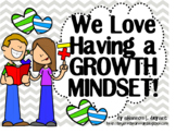 Bible Growth Mindset Posters and Writing Activities (Big K