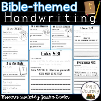 Bible Handwriting Penmanship Practice