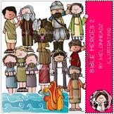 Bible Heroes clip art Part 2 - Bible - by Melonheadz