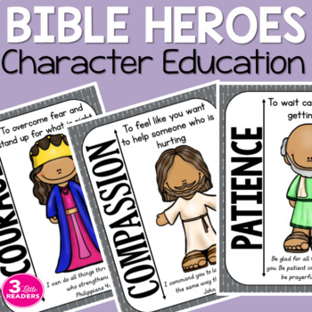 Bible Heroes: Character Education Pack