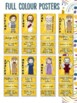 Bible Heroes or Character Classroom Decor Posters