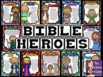 Bible Heroes - Christian Bulletin Board