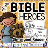 Bible Heroes Emergent Reader {2 Versions}