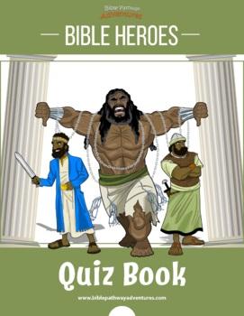 Bible Heroes Quiz Activity Book