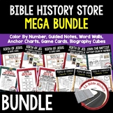 Bible History Store Bundle, Entire Store, Bible Lessons, Sunday School Lessons