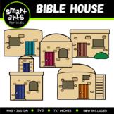 Bible Houses Clip Art