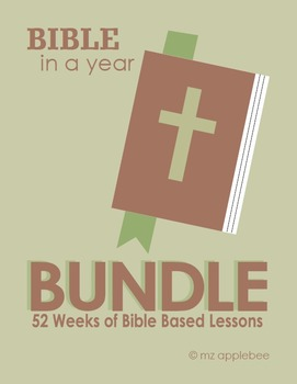 Bible In a Year BUNDLE