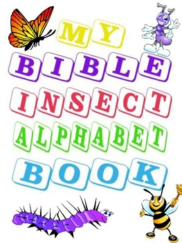 Bible Insect Alphabet Book freebie