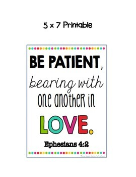 Bible Inspiration Printables