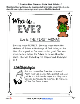Creation Bible Lesson (Part 3 of 3: Adam and Eve and The Fall)