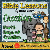 Creation Bible Lesson (Part 1 of 3: Days of Creation)