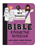 Bible Interactive Notebook: New Testament-Jesus' Birth to Pentecost