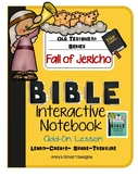 Bible Interactive Notebook: Old Testament Add-On: Fall of Jericho