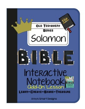 Bible Interactive Notebook: Old Testament Add-On: Solomon