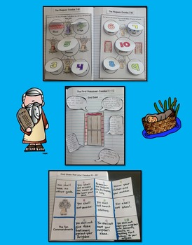 Bible Interactive Notebook: Old Testament-Creation to Moses