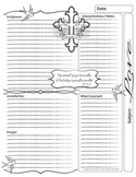 Bible Journal Entries - Love Set