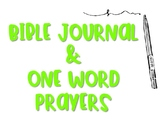 Bible Journal & Prayer Pages