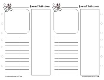 Bible Journaling Workbook Pages - FREEBIE