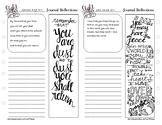 Bible Journaling Workbook Pages - FREEBIE
