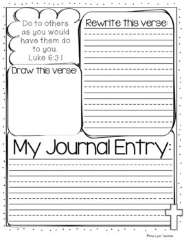 Bible Journaling for Kids {A PK-6 Bundle}