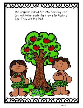 Adam and Eve Bible Lesson (All About Series)