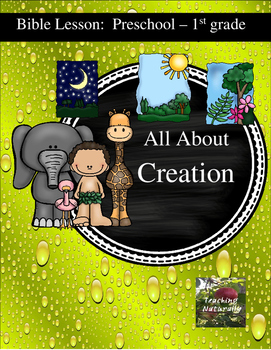 Free Days of Creation Bible Lesson (All about Series)