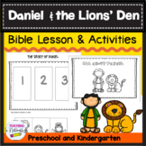 Daniel and the Lions' Den Bible Lesson (All About Series)(preschool/kindergarten
