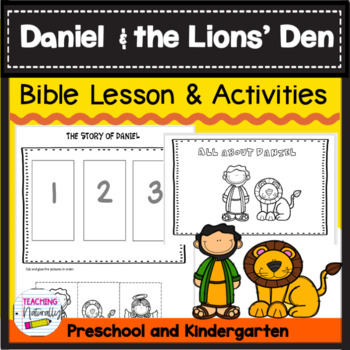 Daniel and the Lions' Den Bible Lesson (All About Series)(preschool/kindergarten