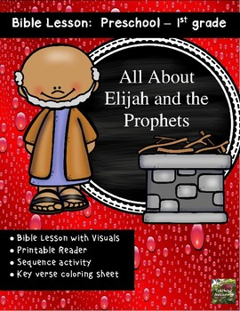 Bible Lesson:  Elijah and the Prophets of Baal (All about Series)
