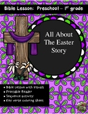 Easter Jesus Death and Resurrection Bible Lesson Distance Learning