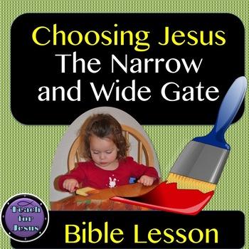 Bible Lesson | Choosing Jesus